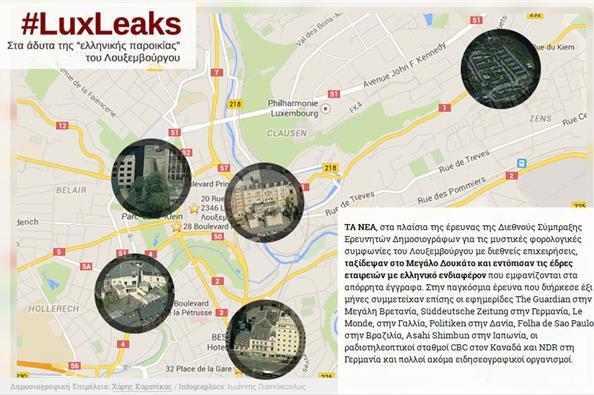 Luxleaks: Στα άδυτα της «ελληνικής παροικίας» του Λουξεμβούργου