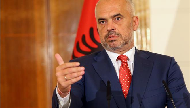 Albanian PM Rama says Athens, Tirana close to EEZ deal, defends Cham property rights