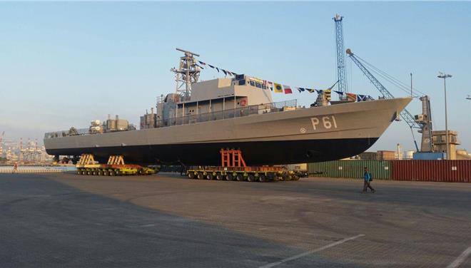 Israeli-made P61 offshore patrol vessel acquired by Cyprus to patrol EEZ