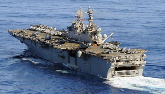 American warships conduct exercises around Cyprus as ExxonMobil  goes to drill
