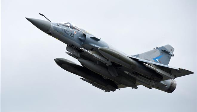 Mirage 2000-5 crashes north of Skyros island, pilot dead