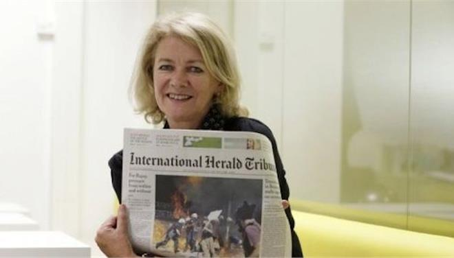 Η International Herald Tribune αλλάζει όνομα σε International New York Times