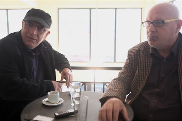 Ο Γιάννης Ζουγανέλης συναντάει τον Λάκη Παπαδόπουλο